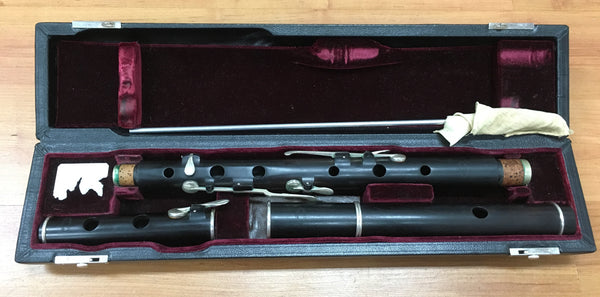 Hamilton Blackwood Keyed Irish Flute (used)