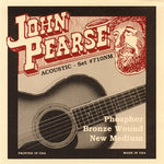 John Pearse Phosphor Bronze Wound New Medium Gauge Strings (#710NM)