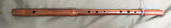 Casey Burns Small-Handed Low D Irish Flute, Rosewood (used)