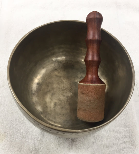 Tibetan Singing Bowl in G (used)