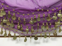 Bellydance Hip Scarves, Jingle Scarf