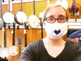 I Love Weird Instruments Cotton Face Mask