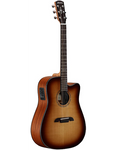 Alvarez Artist Series AD60CESHB acoustic / electric Dreadnought Guitar w/free gig bag