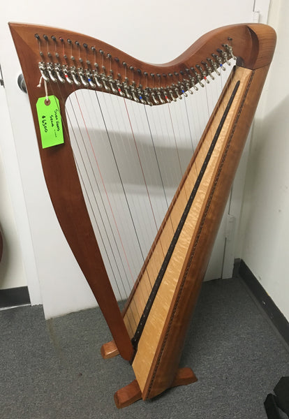 Sligo Seang 30-String Harp, Cherry