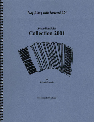 Accordion Solos Collection 2001, w/CD
