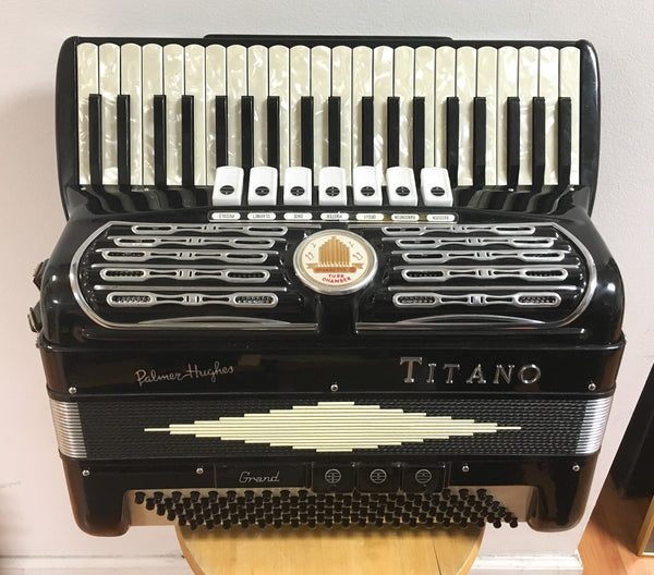 Titano Palmer Hughes Grand 120-bass Accordion (used)