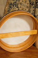 Roosebeck Pretuned Bodhran 14 x 3.5 Mulberry