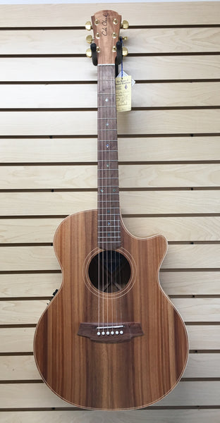 Cole Clark CCAN2EC-BLBL Angel 2 Australian Blackwood Acoustic-Electric Guitar