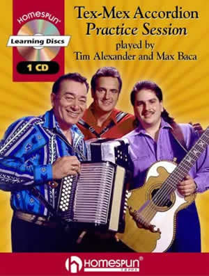 Tex-Mex Accordion Practice Session w/CD