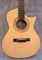 David MacCubbin CSC-004 Birdseye Maple Acoustic-Electric Guitar