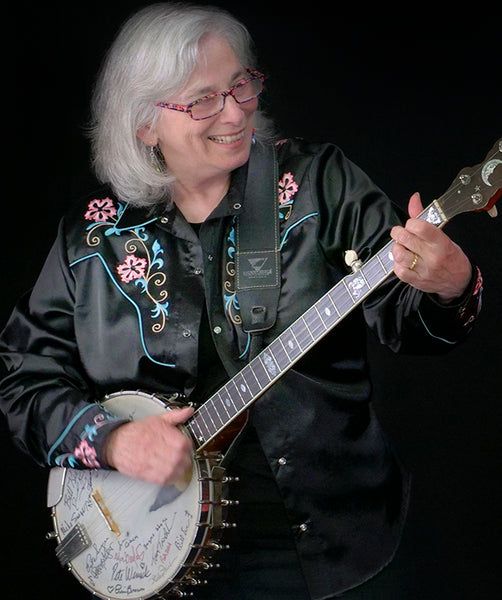 Sat. January 18th - Clawhammer Banjo Workshops w/Cathy Fink