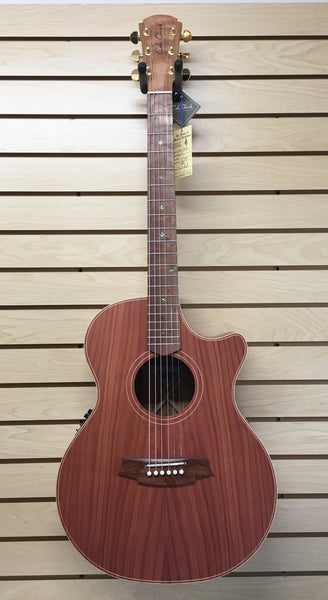 Cole Clark CCAN2EC-RDBL Angel 2 Acoustic-Electric Guitar