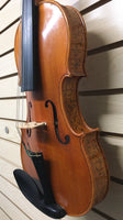 Ornate Asian Strad Copy 4/4 Violin (used)