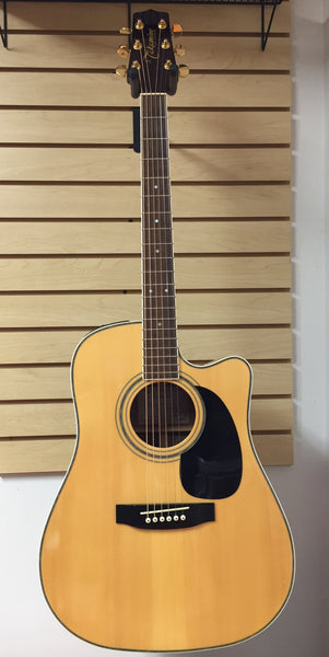Takamine EG334SC Acoustic-Electric Guitar w/hard case (used)