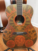 Alvarez AF65GD/M Grateful Dead 50th Anniversary Guitar (used)