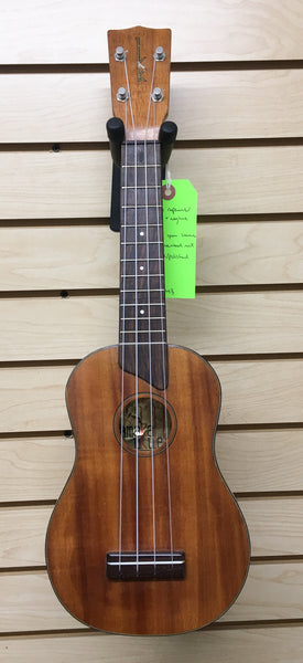 Kamaka Gold Label Soprano Ukulele (used)