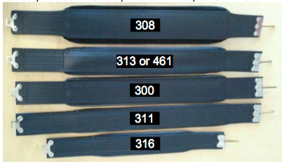 Accordion Bass Straps