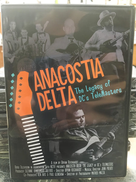 DVD: Anacostia Delta - The Legend of DC's Telemasters
