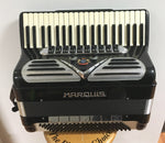 Marquis 120-bass Piano Accordion w/pickup (used)