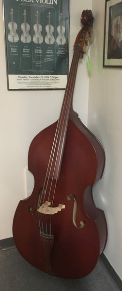 Engelhardt EC-1 3/4 Upright Bass with gig bag & bow (used)
