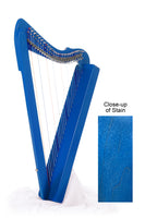 "Harpsicle ""Fullsicle"" 26-String Folk Harp, Blue"
