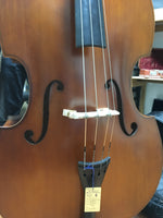 Student Upright Bass 4/4 with gig bag (used)
