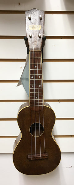 Supertone Soprano Ukulele, ca. 1935, with Case (used)