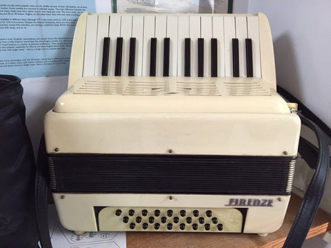 Firenze 24-Bass Piano Accordion (used)
