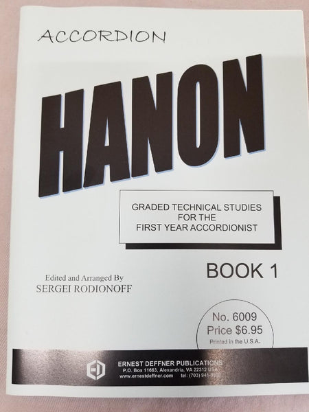 Hanon For the Accordion