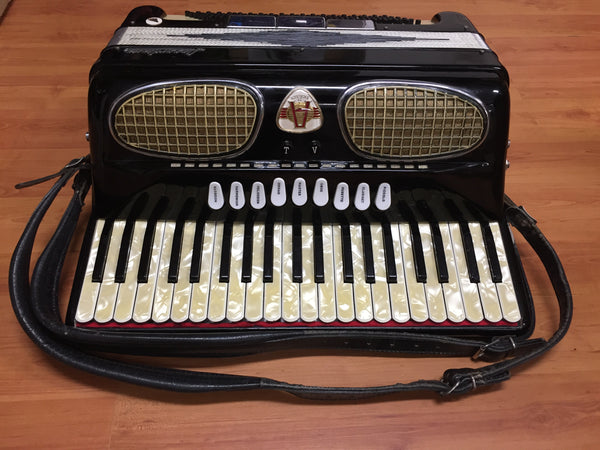Excelsior Accordiana 120-bass Piano Accordion (used)