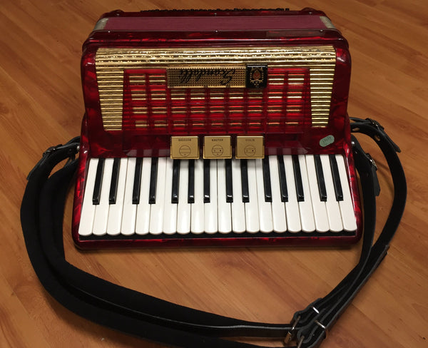 Scandalli 80-bass Piano Accordion (used)
