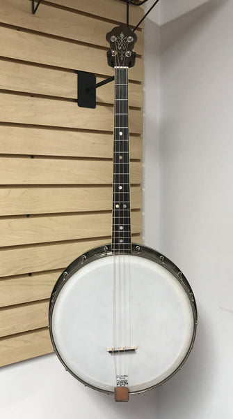 McGinnis Shaw Clef Club 17-fret Tenor Banjo (used)