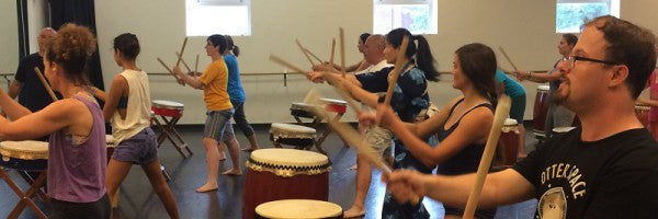 Sundays Beginning May 3rd - Recreational Taiko Class w/Mark H Rooney