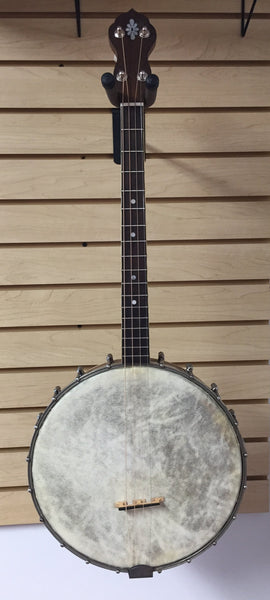Unmarked 17-fret Tenor Banjo ca. 1930 (used)