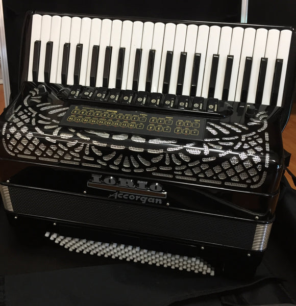 Iorio Accorgan 120-bass Accordion (used)