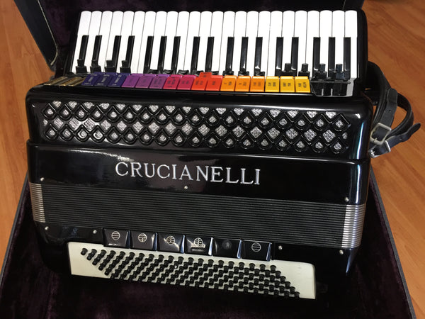 Crucianelli 120-bass Accordion - Acoustic ONLY (used)