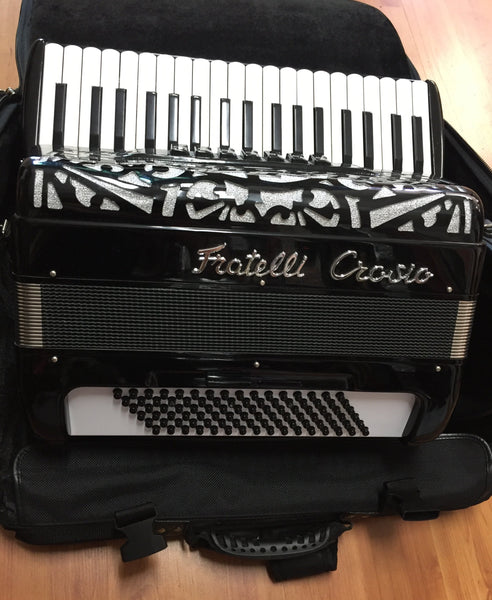 Fratelli Crocio 96-bass Piano Accordion (used)