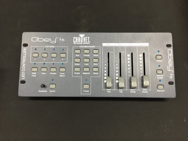 Chauvet Obey 4 LED Controller (used)