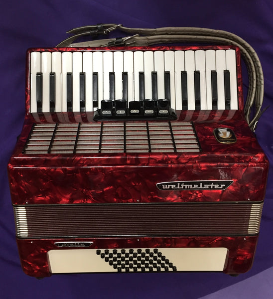 Weltmeister Stella 40-Bass Piano Accordion (used)