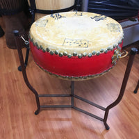 Chinese Opera Drum, 13 inches, with Stand (used)