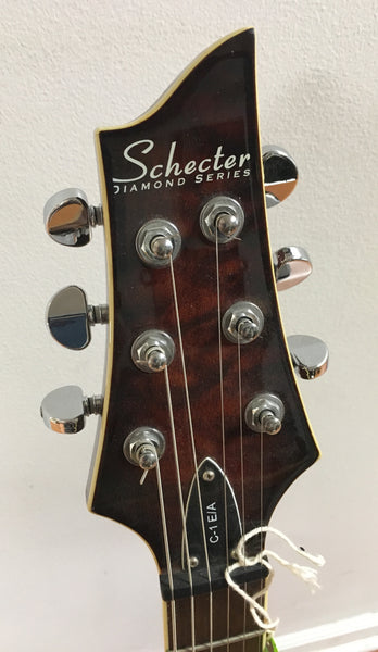 Schecter C-1 E/A Electric/Acoustic Guitar (used)