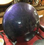 "14"" Chameleon Purple Ajna Metal Tongue Drum"