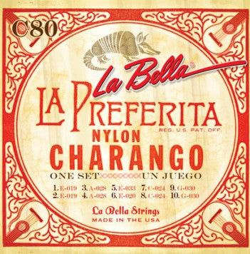 La Bella Charango String Set
