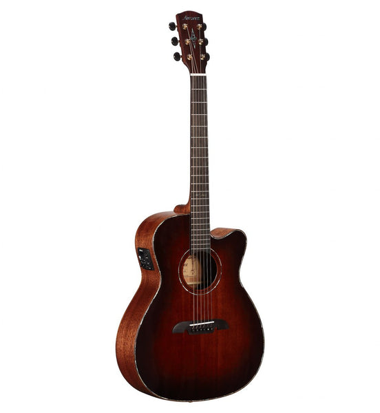 Alvarez Masterworks MFA66CESHB Shadowburst acoustic / electric Folk Body Guitar