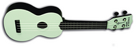 Makala Waterman Composite MK-SWB Soprano Ukulele by Kala (Solid Color)