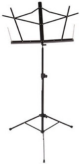 Stageline MS2BK Folding Wire Music Stand