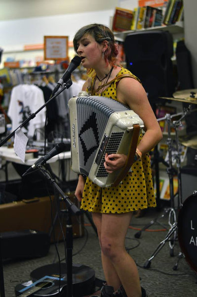 Wed. March 25th - Beginning Accordion Workshop w/McKinley Corbley