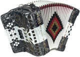 SofiaMari NSM-3412 GCF Button Accordion