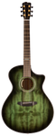 Breedlove Oregon Concerto Emerald CE Limited Edition Acoustic-Electric Guitar