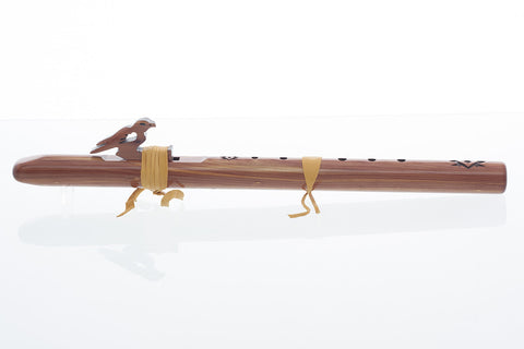 "Sparrow Hawk, ""A,"" Aromatic Cedar Flute by High Spirits"
